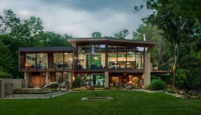 Cunius Residence par Paul Macht - Etats-Unis
