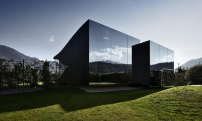 Une- Mirror-Houses par Peter Pichler - Bolzano, Italie