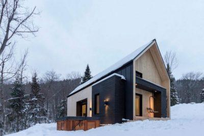 Villa-Boreale par Cargo Architecture - Charlevoix, Quebec