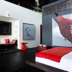 Vaste chambre secondaire - Villa-Yin - iles Adaman