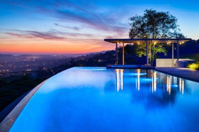 Vaste piscine   - California-home  par nma-architects - Californie, USA
