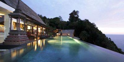 Vaste piscine & vue panoramique mer - Villa-Yin - iles Adaman