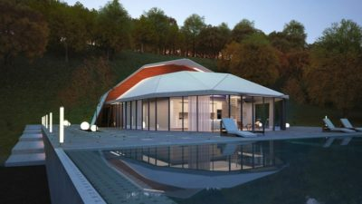 Vue d'ensemble - Shell-House par Lenz Architects - Almaty, Kazakhstan