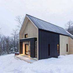 Vue d'ensemble - Villa-Boreale par Cargo Architecture - Charlevoix, Quebec