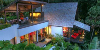 Vue d'ensemble façade étage - Villa-Yin - iles Adaman