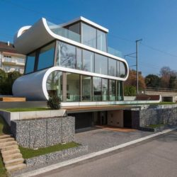 Vue d'ensemble jour - Flexhouse par Evolution Design - Meilen, Suisse