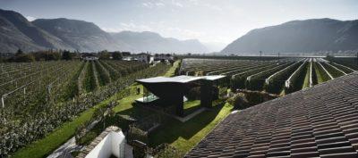 Vue panoramique site - Mirror-Houses par Peter Pichler - Bolzano, Italie