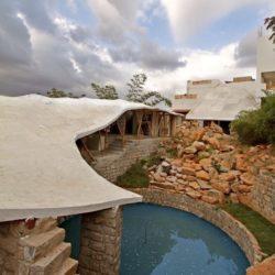 réservoir eau de pluie - Bamboo-Symphony par Manasaram Architects - Bangalore, Inde