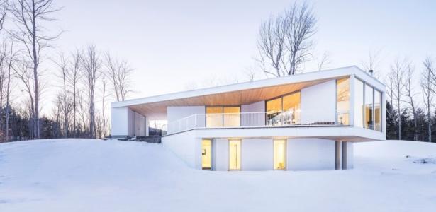 R sidence le nook par mu architecture mansonville for Architecture quebecoise