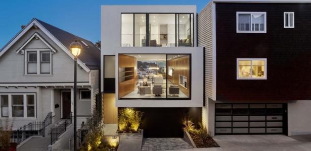 Vue spectaculaire sur san francisco pour maison for Maison moderne 160m2