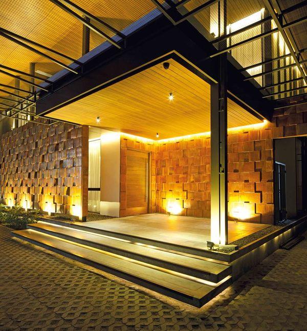 Façade terrasse - Akanaka par RAW Architecture - Jakarta, Indonésie