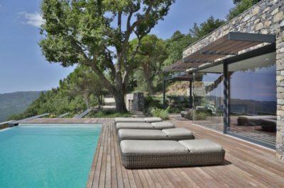 Piscine & bain de soleil - Villa-N par Giordano Hadamik Architects - Imperia, Italie