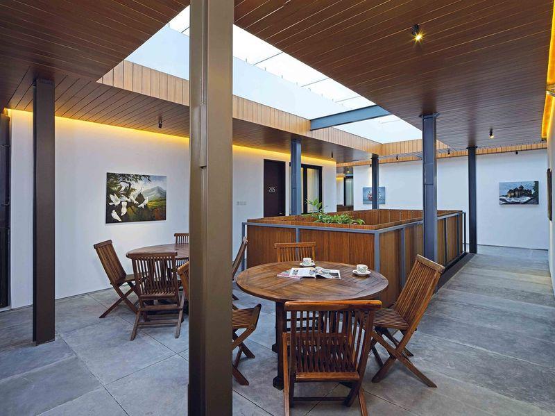 Salle séjour - Akanaka par RAW Architecture - Jakarta Indonésie