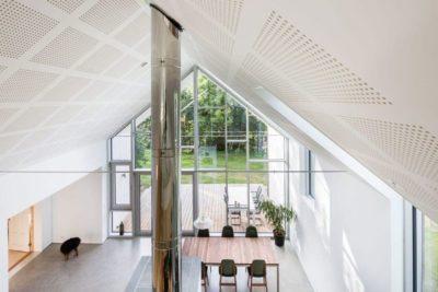 Salle séjour & cuisine - Residence-Sellebakk par Link Arkitektur - Sellebakk, Norvege