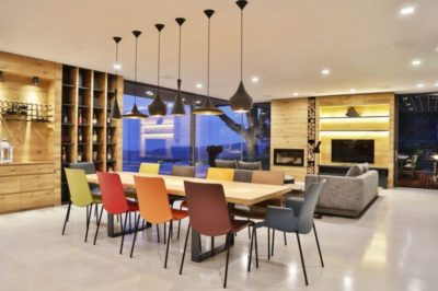 Salon-séjour & écran TV - Villa-N par Giordano Hadamik Architects - Imperia, Italie