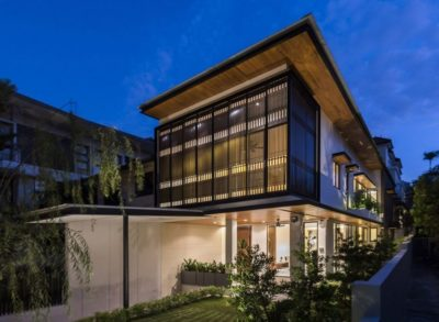 Spacious-Home par ADX Architects - Singapour