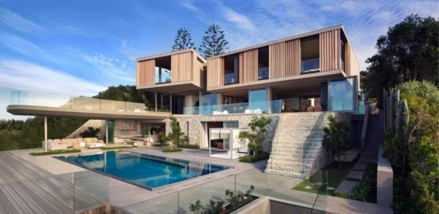 vaste villa luxueuse sur les bords de l 39 oc an indien en afrique du sud construire tendance. Black Bedroom Furniture Sets. Home Design Ideas