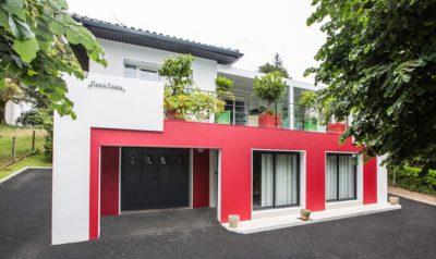 rénovation et transformation d'une maison typique du Pays Basque-uniso
