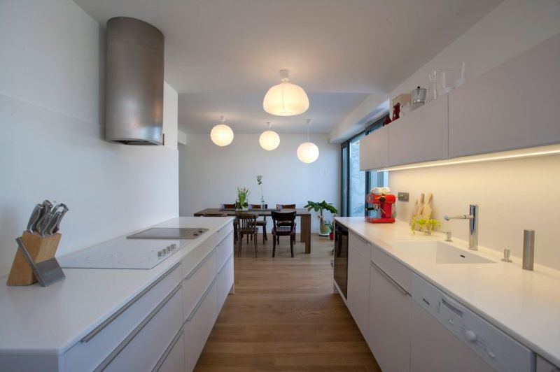 Cuisine & salle séjour - Villa-Inga par par Sebo Lichy - Bratislava, Slovaquie