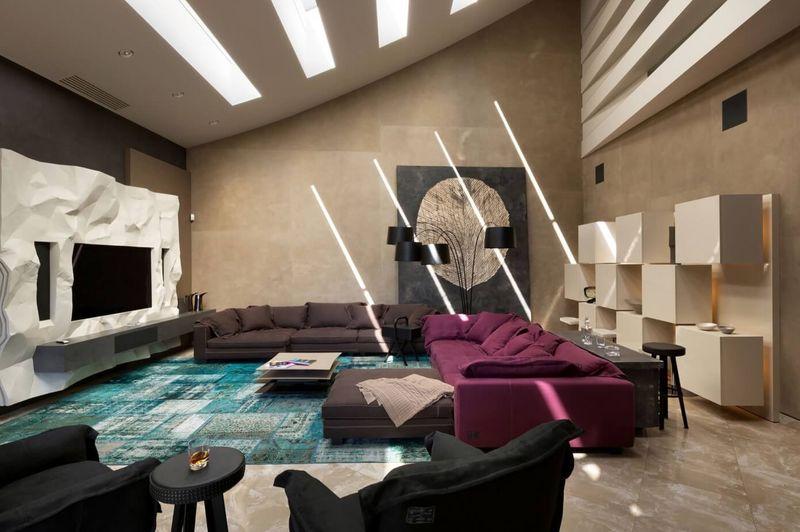 Salon principale - House-Kharkov par Sbm Studio - Kharkov, Ukraine