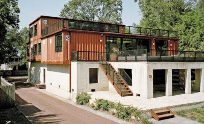 Shipping-Container-Home par Moseley Mathesius - New Jersey, Etats-Unis