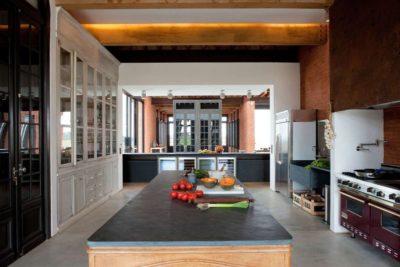 Vaste cuisine - Luna-Llena-House par Candida Tabet - Punta del Este, Uruguay
