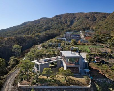 Vue d'ensemble - Y-House par ON Architecture - Ulsan, Coree du Sud