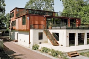 Maison container construire tendance for Container maison legislation