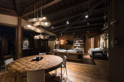 Salle séjour & salon - Gozu-House par Opus - El Retiro, Colombie