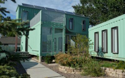 Container-House par Marie Jones Arizina, USA
