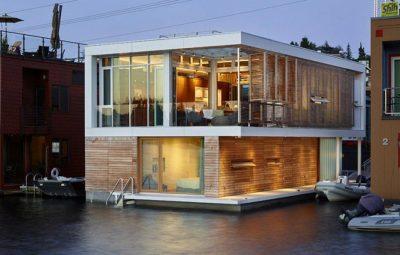 Floating-Home par Vandeventer-Carlander - Seattle, USA