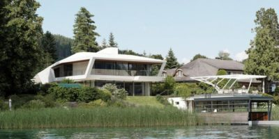 Lake-House-Portschach Par A01 Architects - Carinthie, Autriche