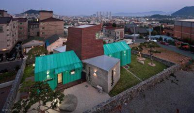 Tower-House-maison-x par ON Architecture - Gimhae, Coree du Sud