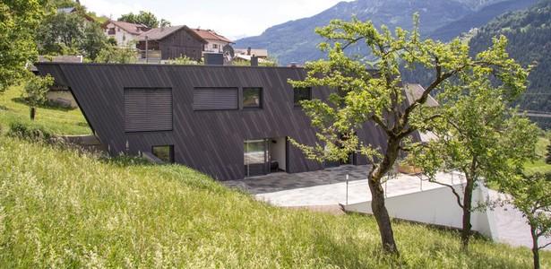 """Landeck, une maison """"météorite"""" en Autriche"""