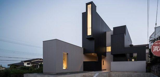 Une maison au point de vue très étudié au Japon