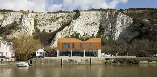 Une maison qui représente sa ville en Angleterre
